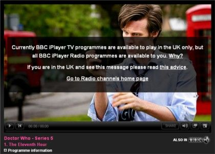 iPlayer proxy